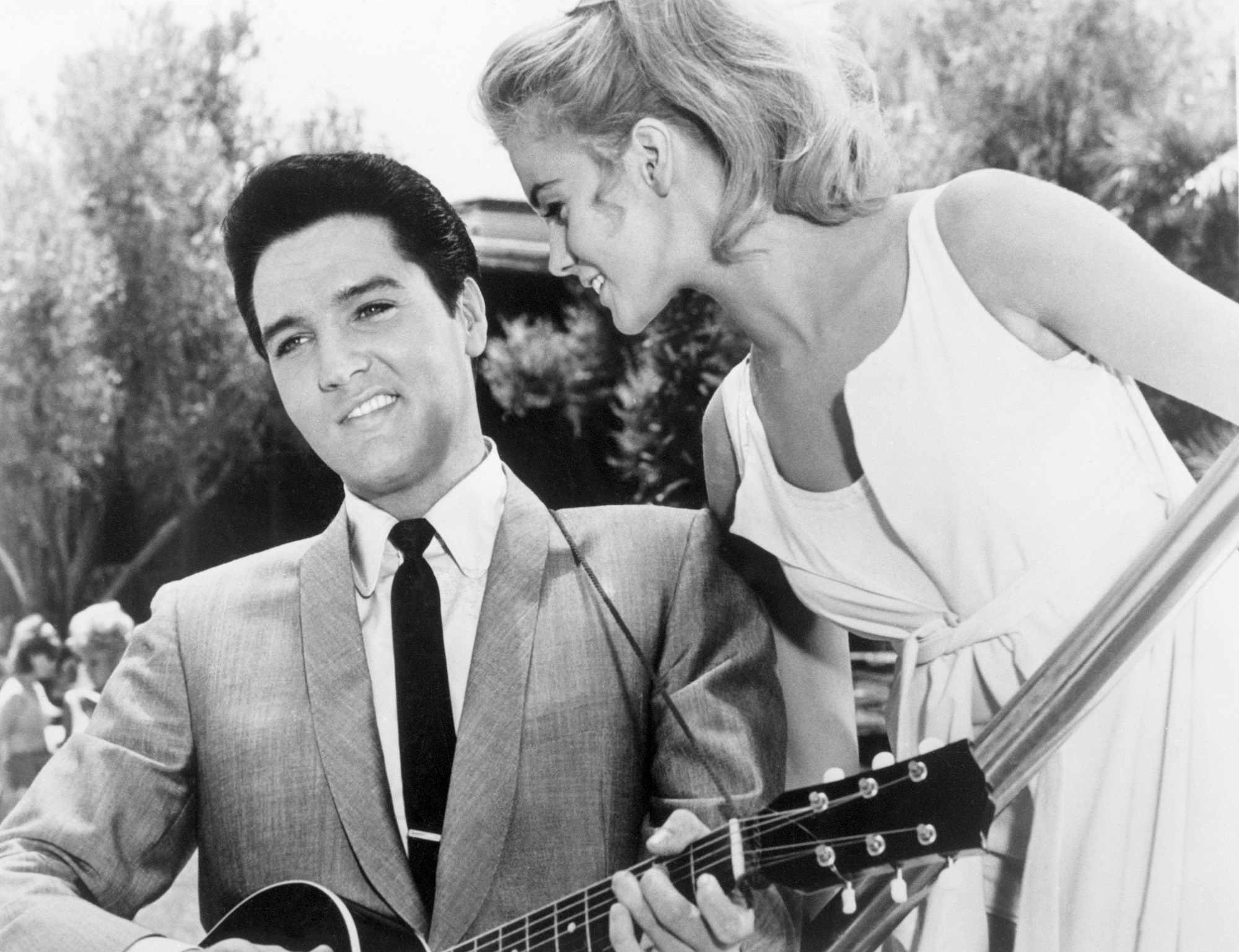 Elvis Presley and Ann-Margret in Viva Las Vegas