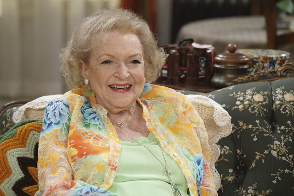 Betty White on 'Young & Hungry'