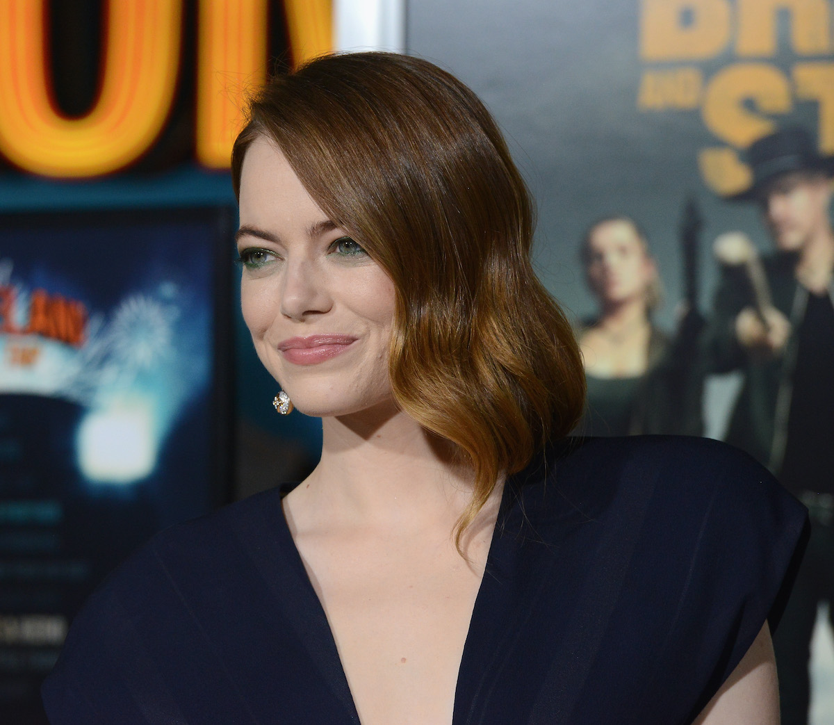 Emma Stone at the premiere of 'Zombieland: Double Tap'