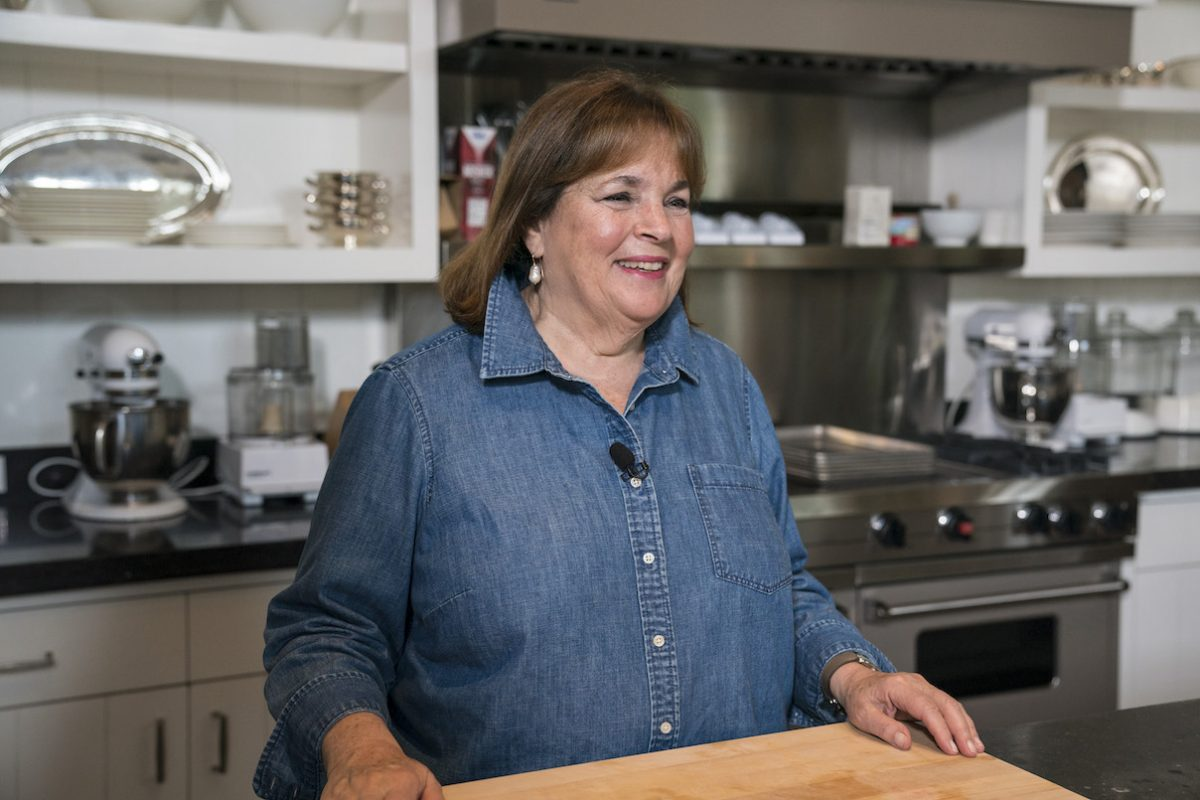Ina Garten is standing in the kitchen on 'Sunday Today with Willie Geist' Season 31