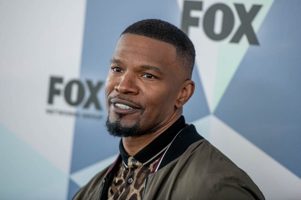 Jamie Foxx will be attending the Fox Upfront Network 2018 at Wollman Rink, Central Park on May 14, 2018 in New York City.