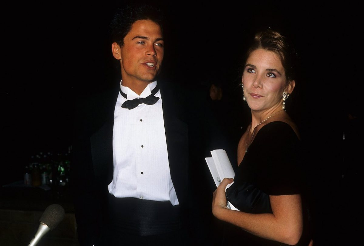 Rob Lowe and Melissa Gilbert