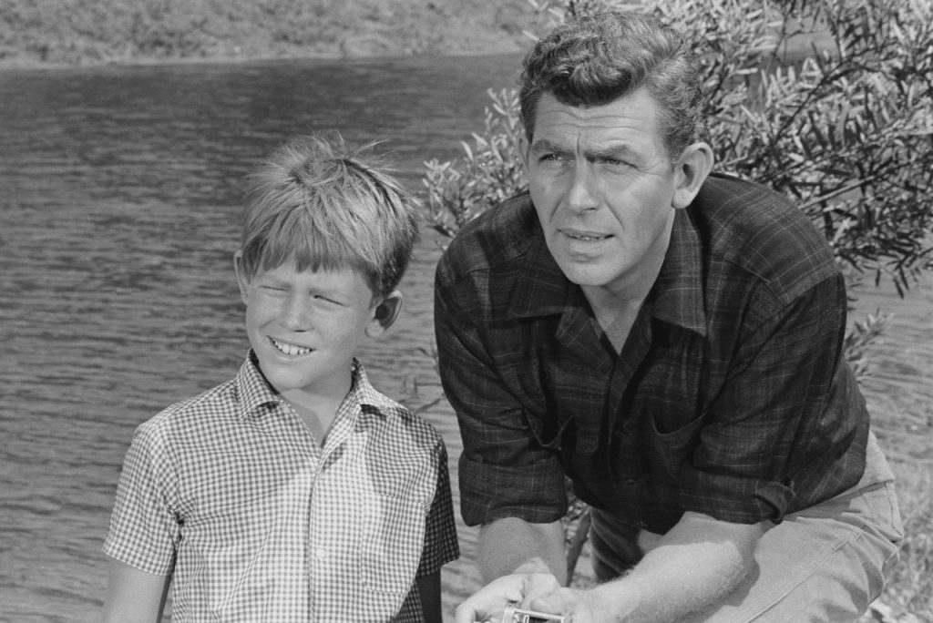 Ron Howard and Andy Griffith  CBS through Getty Images