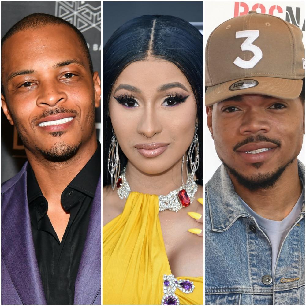 TI, Cardi B, and Chance the Rapper