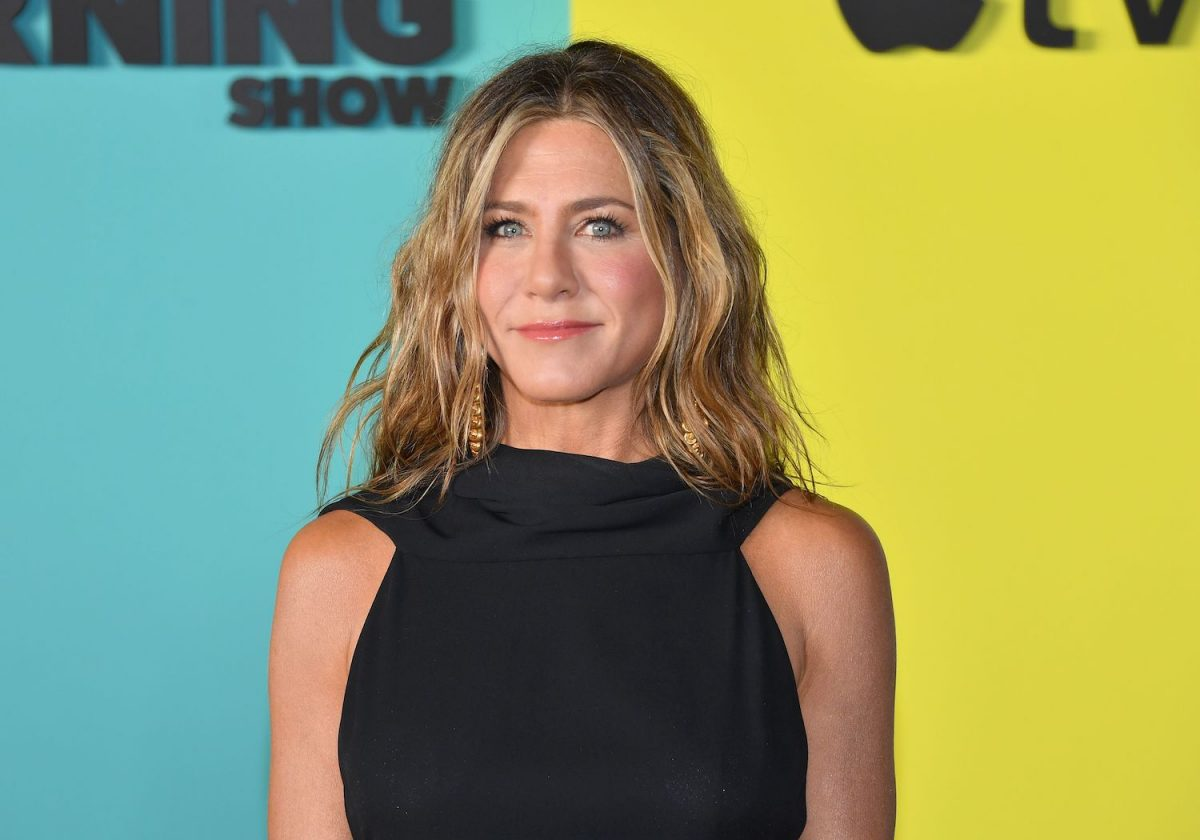 Jennifer Aniston arrives for the global premiere of The Morning Show at the 2019 Lincoln Center