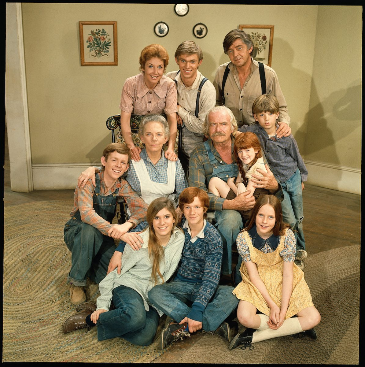 The Waltons were thrown in 1972
