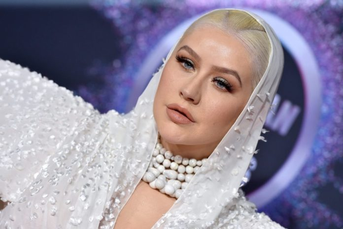 Christina Aguilera attends the 2019 American Music Awards at the Microsoft Theater in Los Angeles, California on November 24, 2019, Axel / Bauer-Griffin / Filmmagic
