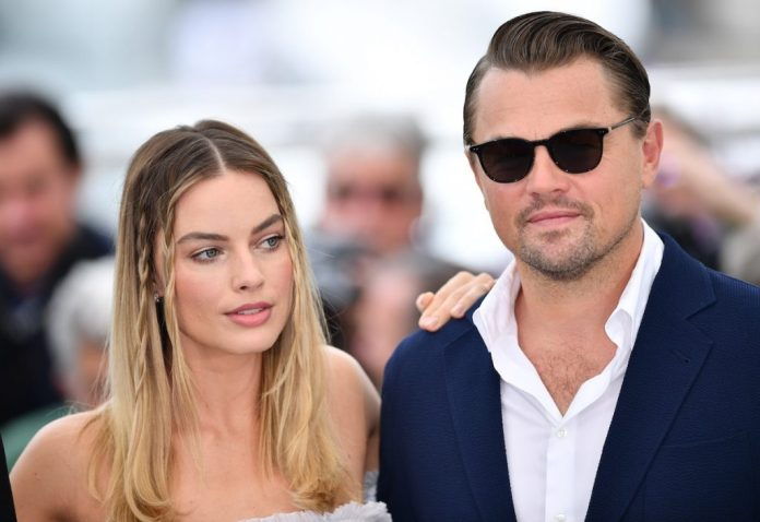 Margot Robbie and Leonardo DiCaprio from 'The Wolf of Wall Street'