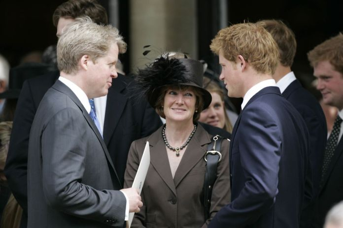 Prince Harry and Diana's family