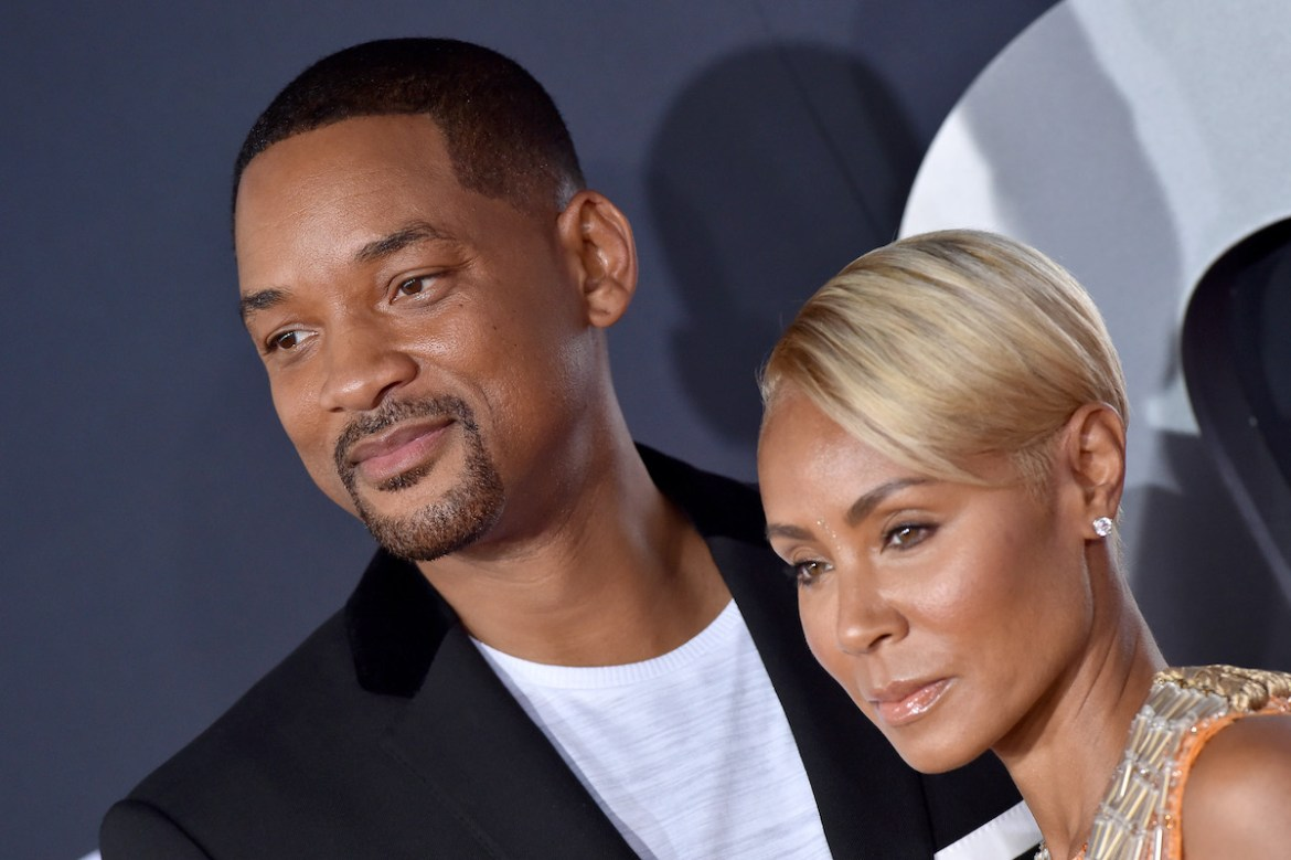 Will Smith and Jada Pinkett Smith at the 'Gemini Man' premiere
