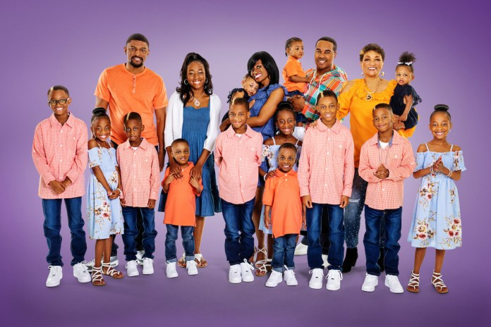 The Derico Family with Eric and Gee Gee as seen on TLC's Doubling Down with the Derricos.
