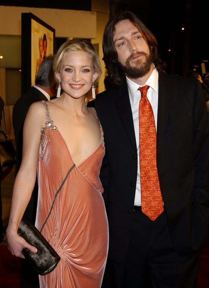Kate Hudson and Chris Robinson pictured together at the 'How to Lose a Guy in 10 Days' premiere