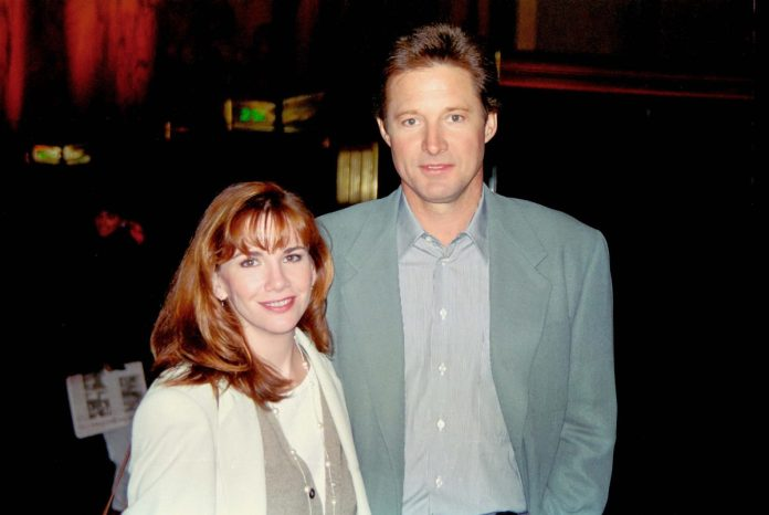 Melissa Gilbert and Bruce Boxleitner attended an event together in the 1990s.