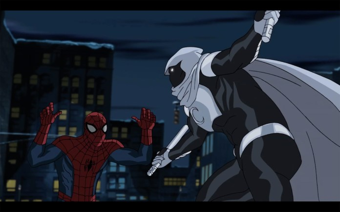Moon Knight in 'Marvel's Ultimate Spider-Man vs. The Sinister 6'