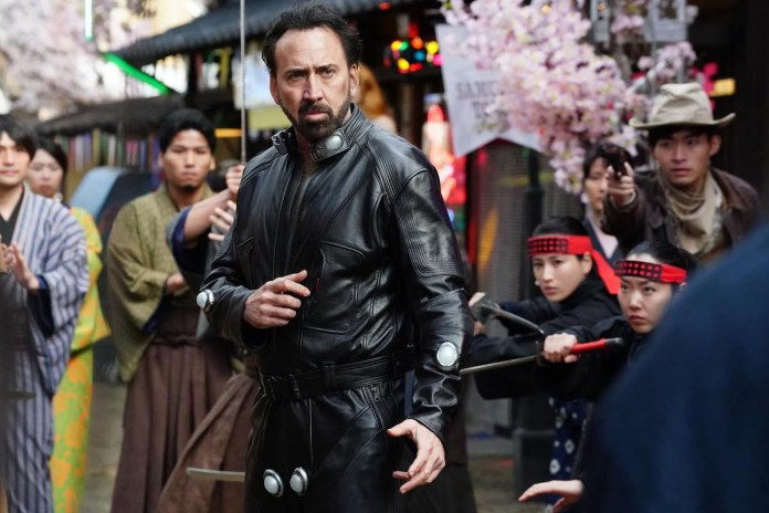 Nicolas Cage in 'Prisoners of the Ghostland'