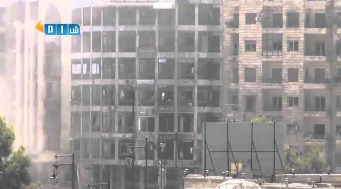 Videos: Huge Explosions As Insurgents Detonate Tunnels In Aleppo