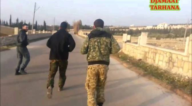 Video: Tarkhan's Jamaat On Morning Jog In Syria