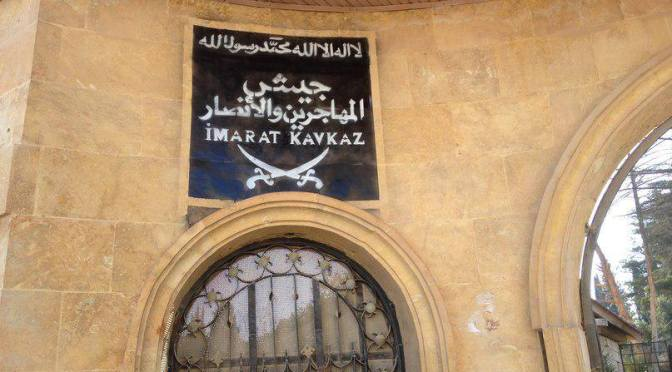 Imarat Kavkaz in Syria splits more after Abdul Aziz KBK ouster