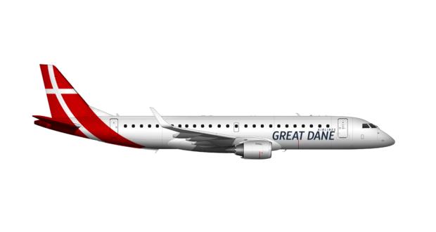 flyg från danmark till stockholm