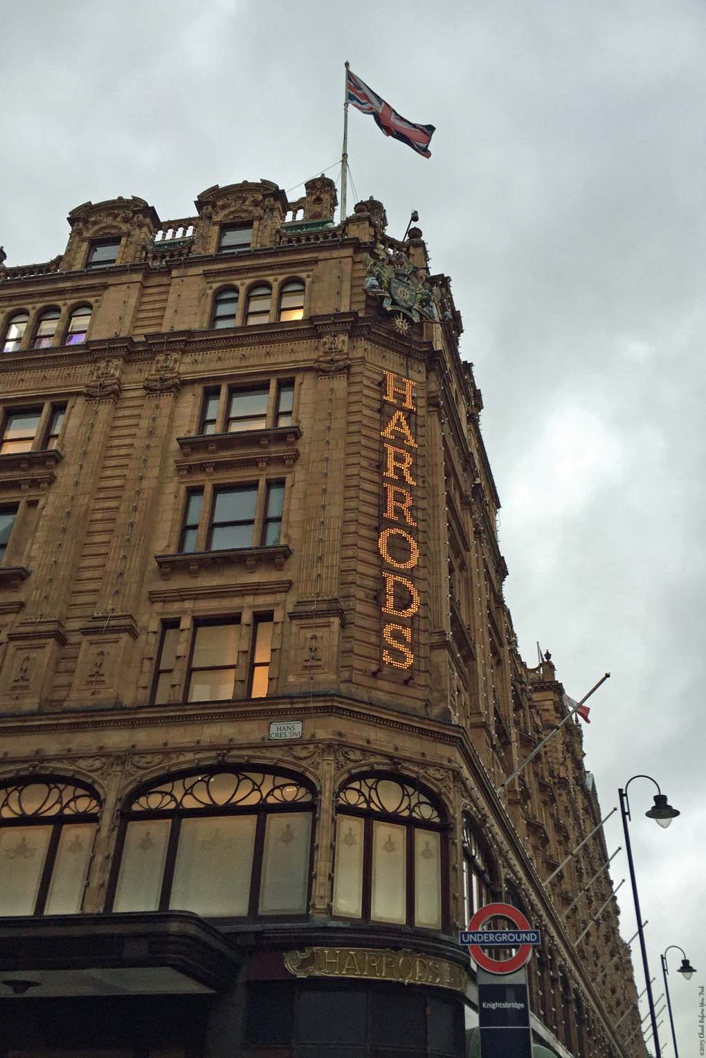 Harrods - London, England
