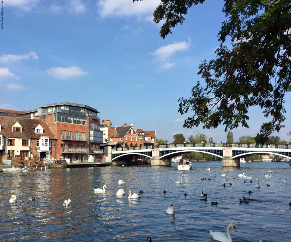 River Thames - Windsor and Eton, England
