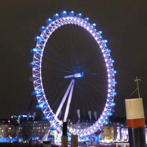 London Eye Lights - London, England