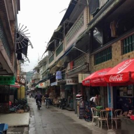 A street in Cheung Chau - Hong Kong, China