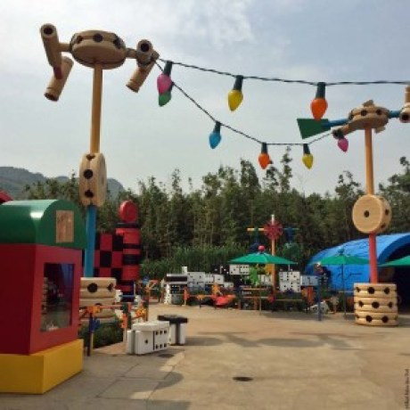 Toys and Games in Toy Story Land - Hong Kong Disneyland, Hong Kong, China