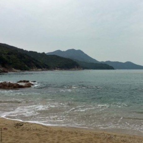 View from Hung Shing Yeh Beach, Lamma Island - Hong Kong, China