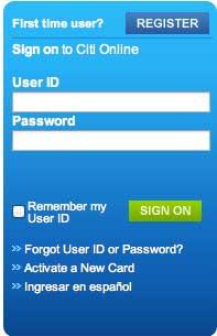 Citibank Online Sign In >> Citicards Login Cardonline Co