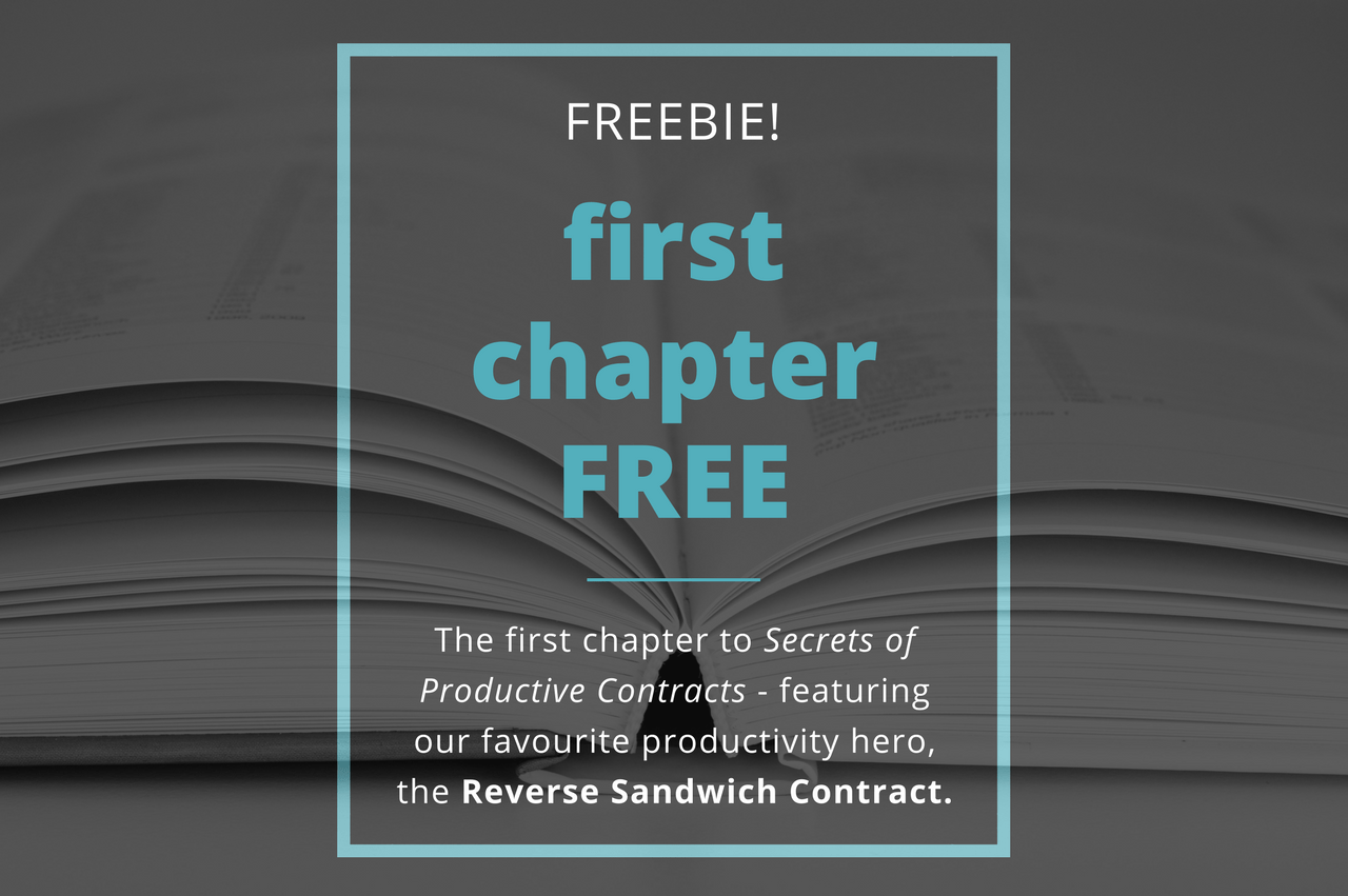 First Chapter Free - Secrets of Productive Contracts by Verity White