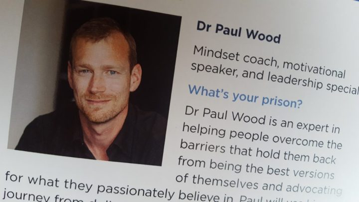 Dr Paul Wood's bio from the Clarity Conference Programme booklet