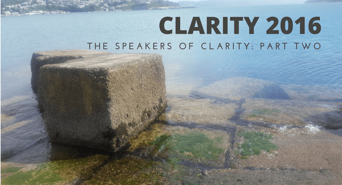 Speakers of Clarity Part Two