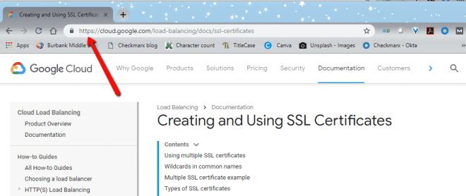 Creating & Using SSL Certificates