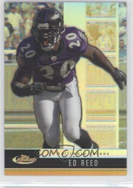 2008 Finest Gold Refractors/Xfractors #99 - Ed Reed/50 - Courtesy of CheckOutMyCards.com