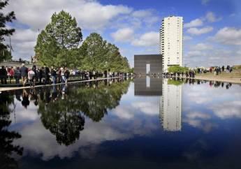 Image result for alfred p murrah federal building memorial