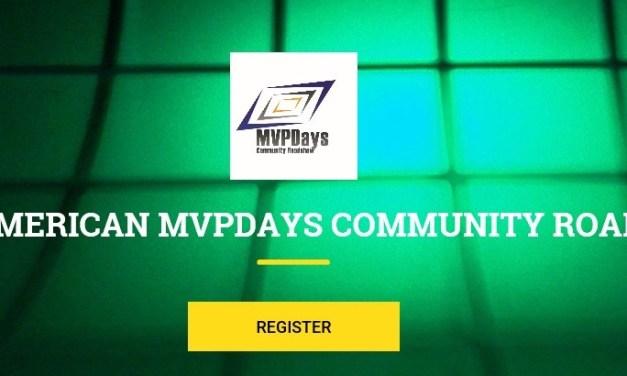 MVPDays Website – Relaunch today