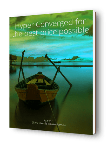 Hyper Converged for the best price possible – E-Book