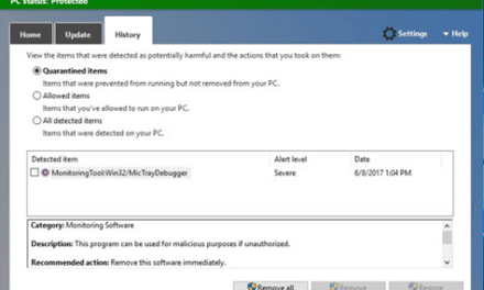 Win32/MicTrayDebugger getting flagged by #WindowsDefender on clean images #Microsoft #HP