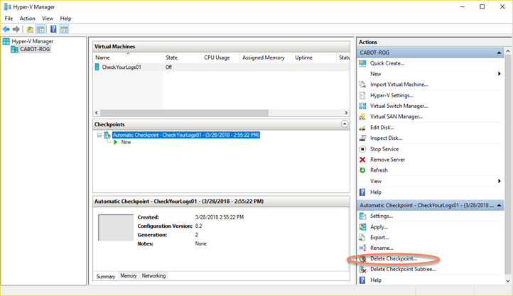 Hyper V In Windows 10 Quick Create Vms From Template