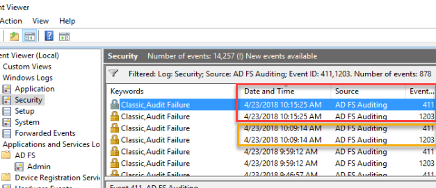 ADFS and AzureAD Account Lockouts – Part 1