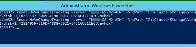 How to fix Failed to create change tracking time stamp for virtual disk file #VEEAM #MVPHOUR #WINDOWSSERVER #PowerShell