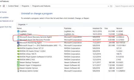 The Case cleaning Azure Site Recovery and Hyper-V Replica on an older Hyper-V Server – #WindowsAdminCenter #HyperV