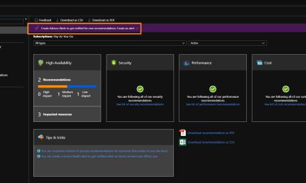 Creating Azure Advisor Alerts? Let's Do It!