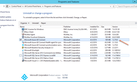 How to keep Azure AD Connect Updated