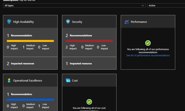 New Azure Advisor Recommendations Category: Operational Excellence
