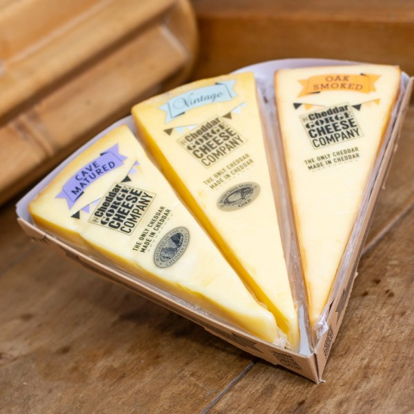 Cheddar Gorge Cheese Company Three Cheese Selection