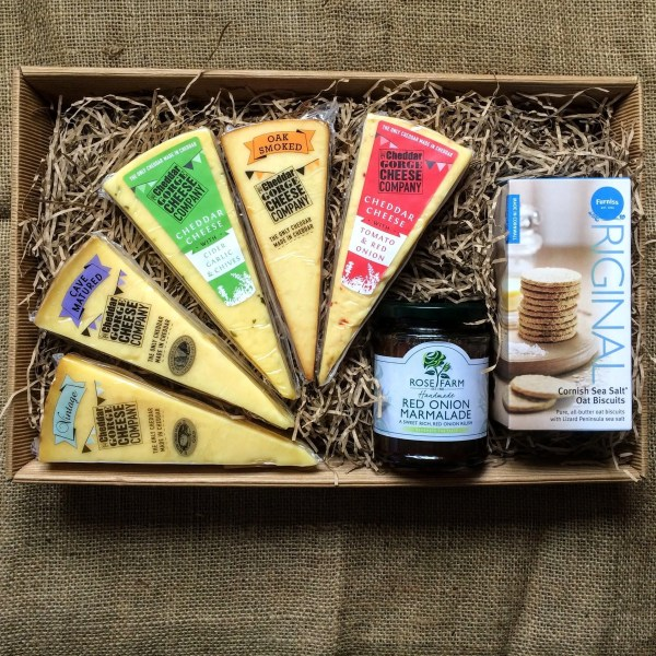 Cheddar Gorge Five Cheese Selection Tray
