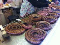 Sausage at Market