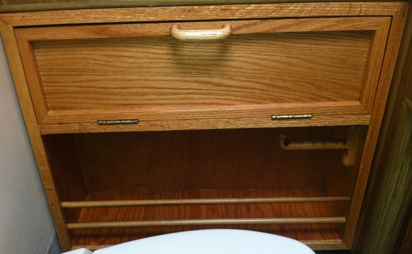 Our Favorite Wood Chuck on Handy Motorhome Cabinet Upgrades.
